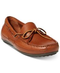 Image of Polo Ralph Lauren Men's Roberts Tumbled Leather Drivers