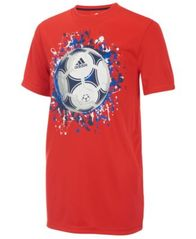 Image of adidas Graphic-Print T-Shirt, Big Boys