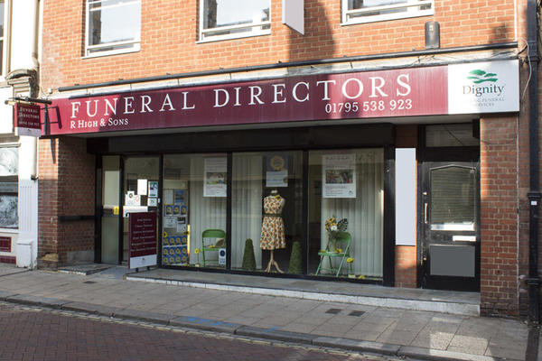 R High & Sons Funeral Directors in Faversham