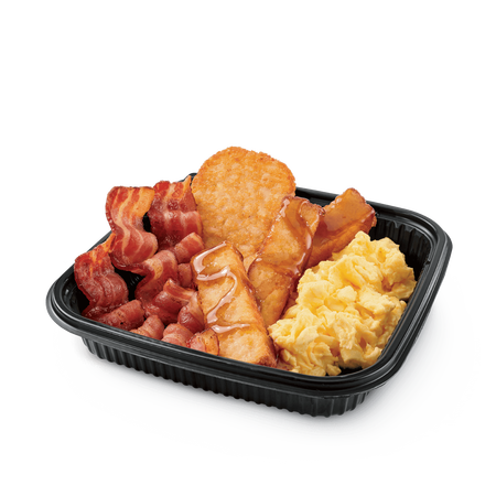 Jumbo Breakfast Platter w/ French Toast Sticks & Bacon