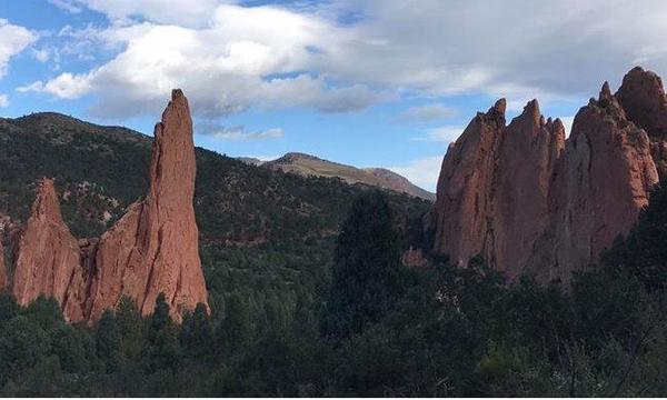Exploring Colorado. Garden of the Gods