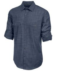 Image of Alfani Men's Long Sleeve Warren Shirt, Created for Macy's
