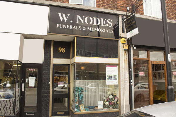 W Nodes Funeral Directors in Southgate, London.