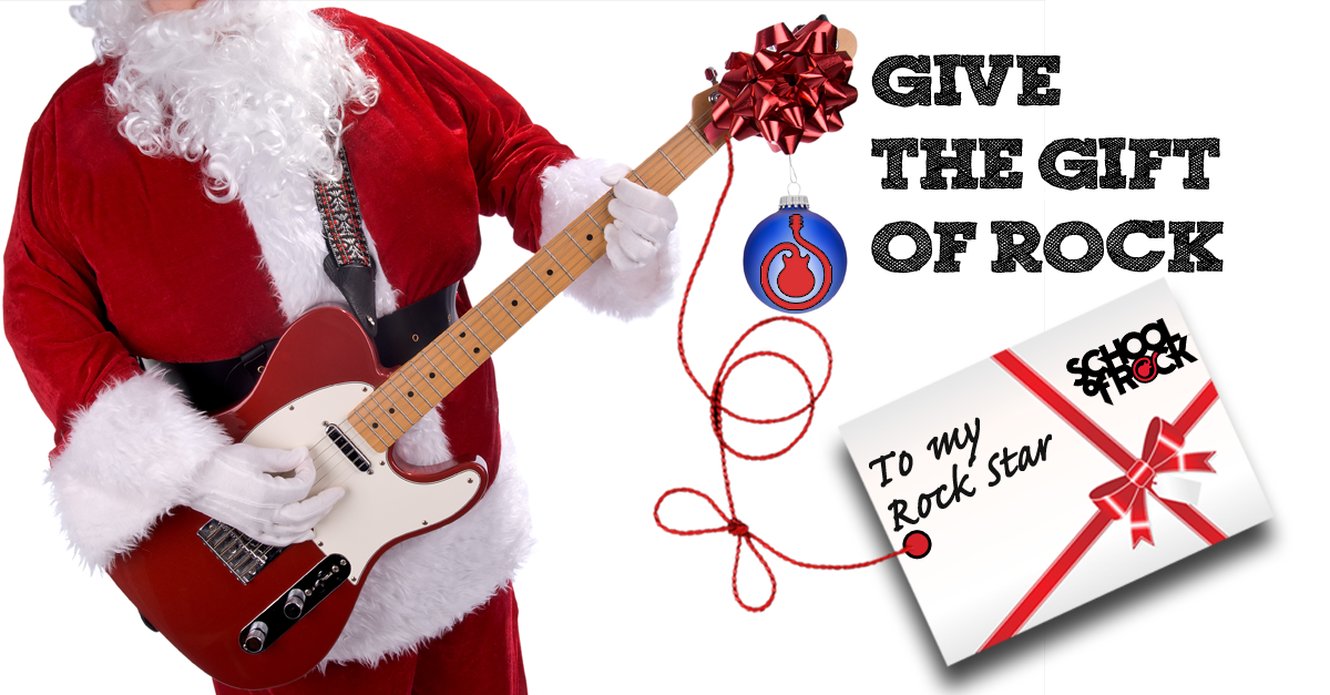 Image of GIVE THE GIFT OF ROCK