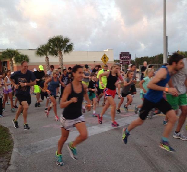 Troy Baker - Thank you Run for Immokalee participants!