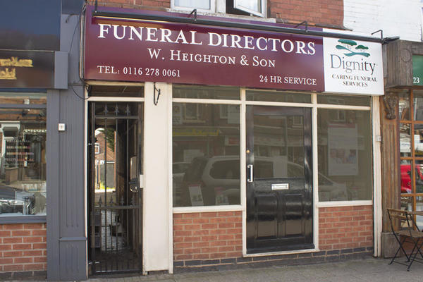 W Heighton & Son Funeral Directors in South Wigston