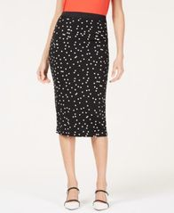 Image of Alfani Printed Scuba Skirt, Created for Macy's