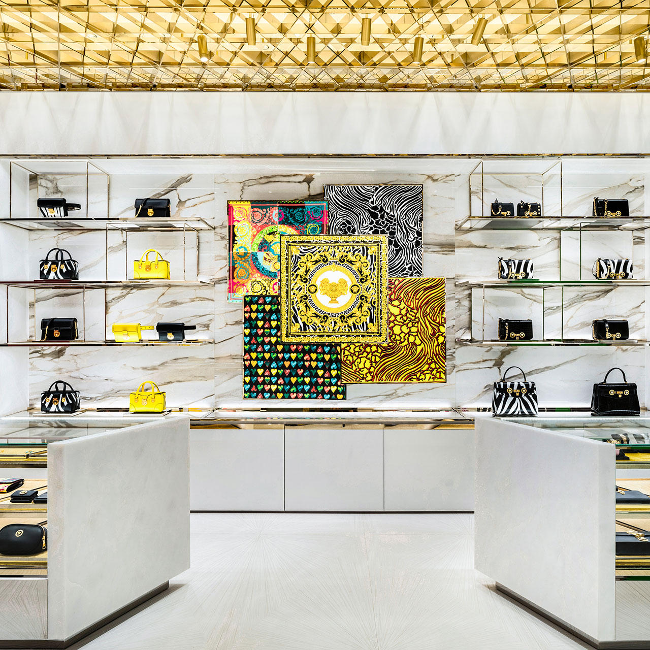 Versace Beijing China World Boutique