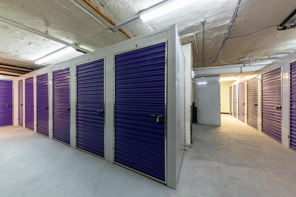 East Village storage facility interior