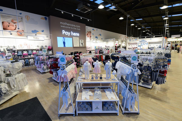 Mothercare Swansea store overview