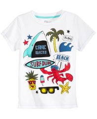 Image of Epic Threads Flap-Graphic T-Shirt, Little Boys, Created for Macy's