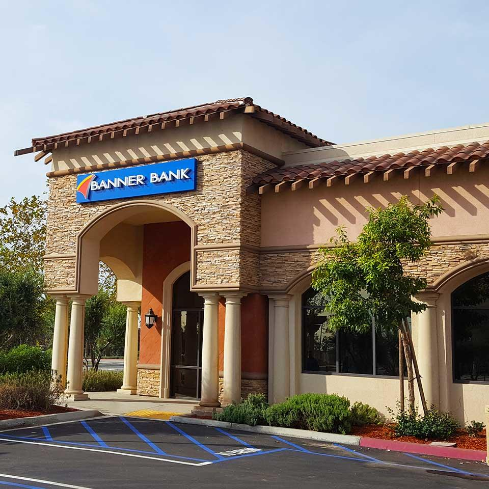 Banner Bank branch in Rancho Cucamonga, California