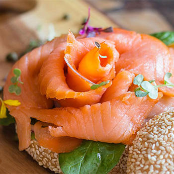 Image of Smoked Salmon Lox
