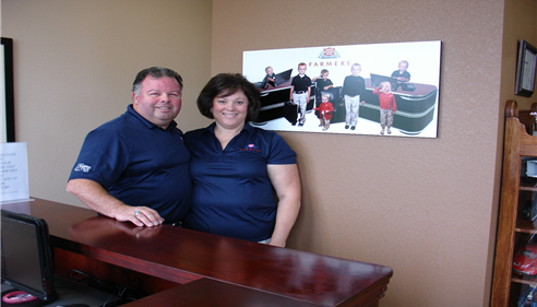 Ken Teague Insurance Agent and his wife, Linda Teague.