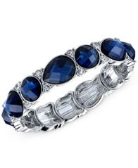 Image of 2028 Crystal Stretch Bracelet, a Macy's Exclusive Style