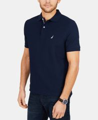 Image of Nautica Men's Classic Fit Performance Deck Polo