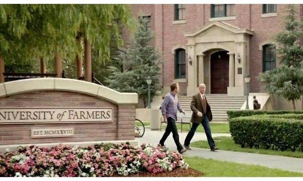 A stock photo of the University of Farmers