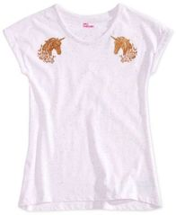 Image of Epic Threads Big Girls Unicorn-Print T-Shirt, Created for Macy's