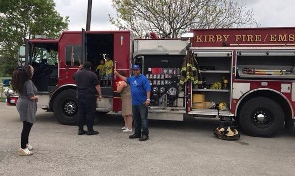 Partnering with the Kirby Fire Department to keep our community safe!
