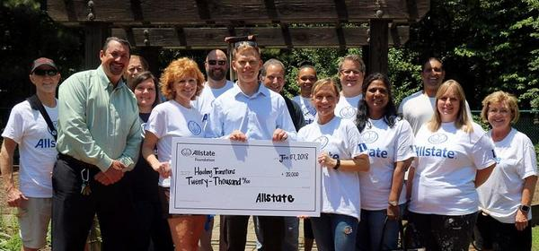 Ryan Garrett - Healing Transitions Receives Allstate Foundation Helping Hands Grant