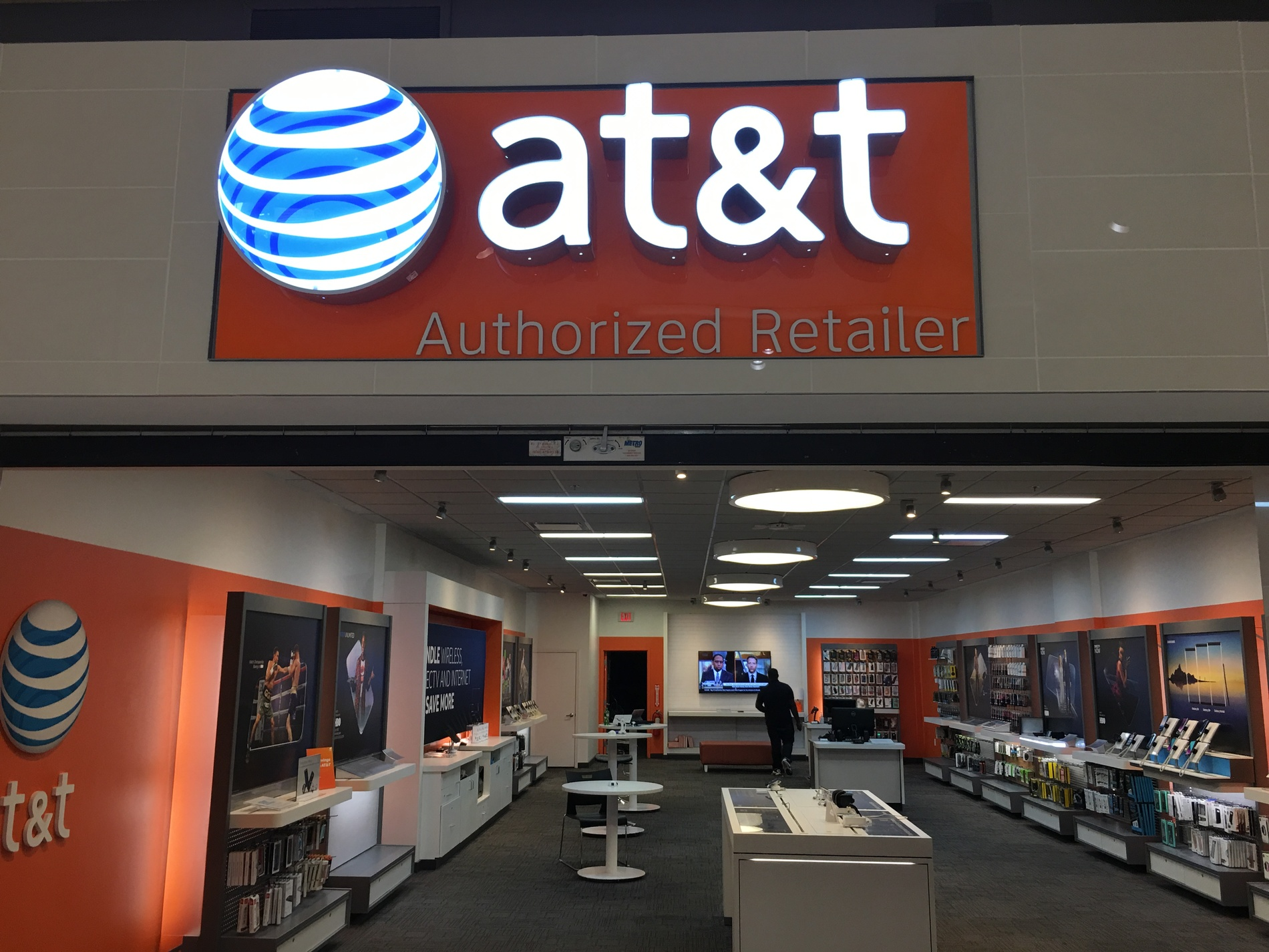 nearest at&t store to my location