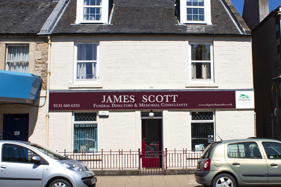 James Scott Funeral Directors in Edinburgh