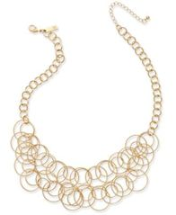 Image of INC International Concepts Multi-Circle Statement Necklace, Created for Macy's