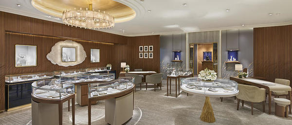 Chaumet Elements boutique Hong Kong