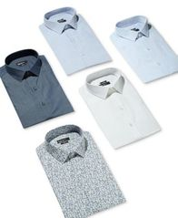 Image of Bar III Men's Slim-Fit Stretch Dress Shirt, Created for Macy's