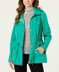 Image of Charter Club Petite Anorak Rain Jacket, Created for Macy's