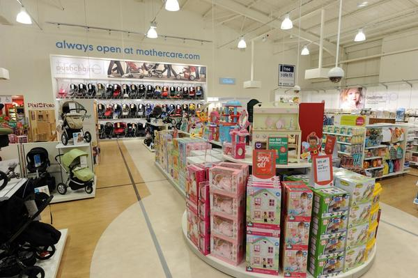 Mothercare Nottingham pushchairs