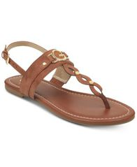 Image of G by GUESS Links Flat Sandals