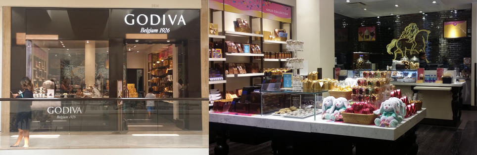 Godiva Chocolatier Fashion Valley Mall 6