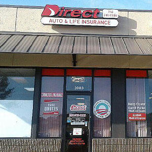 Front of Direct Auto store at 2083 Florence Boulevard, Florence