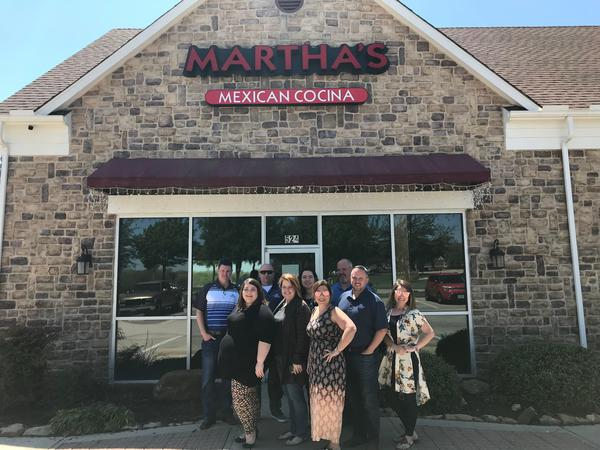 Staff lunch at Martha's Mexican Cocina today for hitting several goals. Great job Kirkwood Agency!
