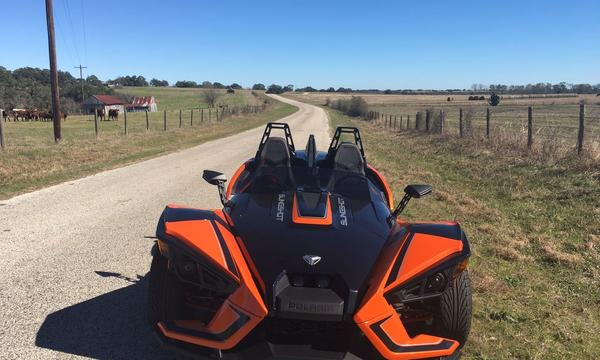 2016 Slingshot, beautiful ride
