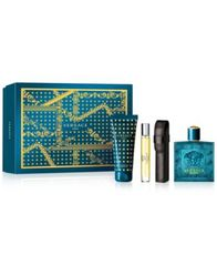 Image of Versace Men's 4-Pc. Eros Gift Set