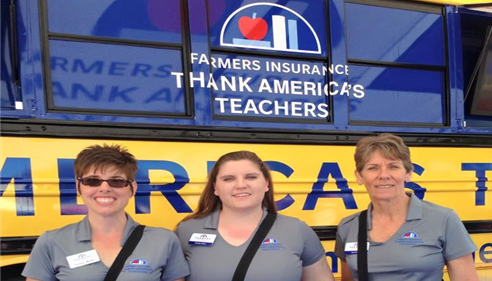 Farmers® Insurance Thank A Teacher 2015
