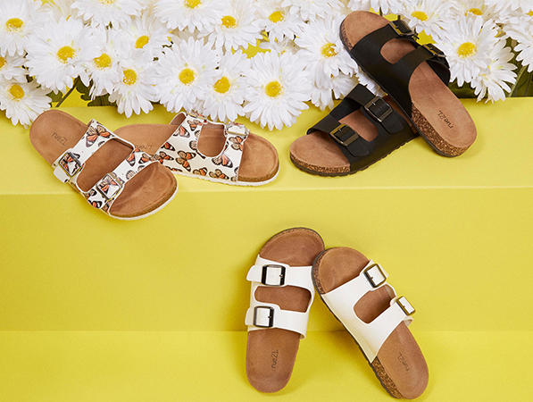 check out accessories now on rue 21 fun sandals for summer