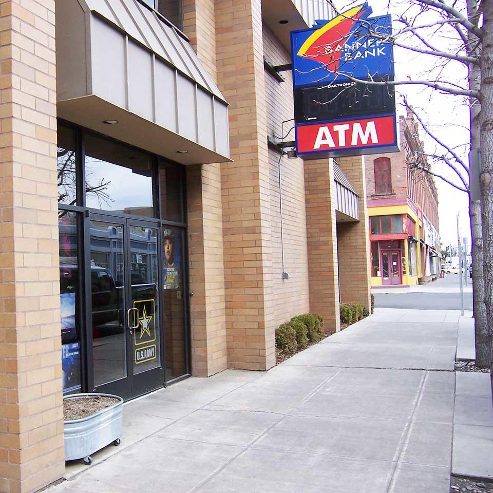 Banner Bank branch in Pendleton, Oregon