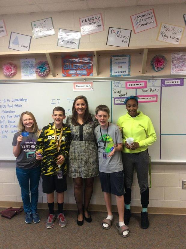 Brittney Herlong - Career Day at Batesburg-Leesville Middle School
