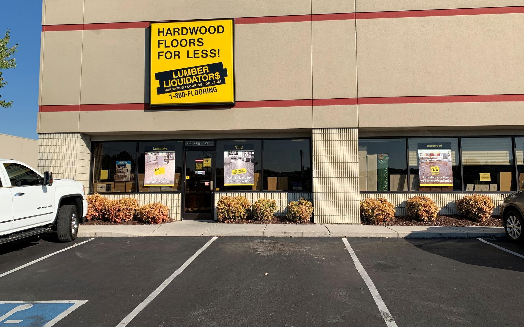 Lumber Liquidators Flooring #1100 Knoxville | 504 Carden Jennings Lane | Store Front