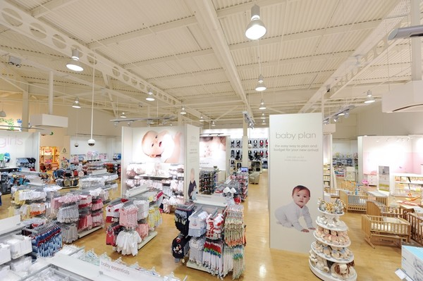 Mothercare Peterborough store overview