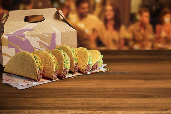 Taco Bell Party Packs are perfect for your Friendsgiving