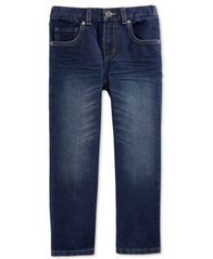 Image of Epic Threads Little Boys' Dark Blue Denim Jeans, Little Boys, Created for Macy's