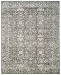 Image of CLOSEOUT! Safavieh Evoke EVK270S Grey/Ivory 3' x 5' Area Rug