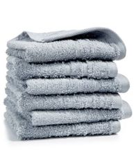 Image of Martha Stewart Essentials 6-Pc Cotton Washcloth Set, Created for Macy's