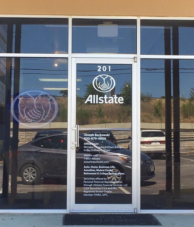 Allstate   Car Insurance in Bulverde, TX - Joseph Borkowski