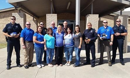 We Back the Blue! Midlothian Police Department.
