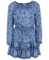 Image of Epic Threads Big Girls Printed Drop Waist Dress, Created for Macy's